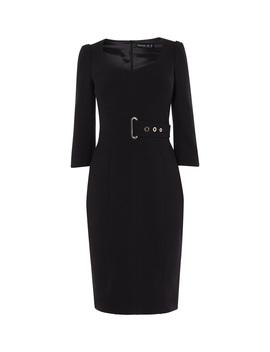 Corsetry Waist Pencil Dress by Dd036 Fd035 Gd014 Jd001 Dd252 Dd223 Dd037 Dd008 Dc298 Id011 Cd004