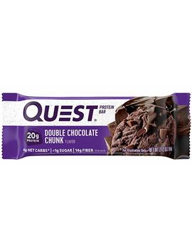 Quest Nutrition 60g Double Chocolate Chunk Protein Bar   Pack Of 12 by Quest Nutrition