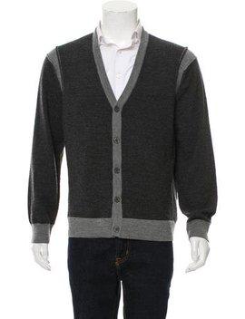Michael Kors Woven Button Up Cardigan by Michael Kors