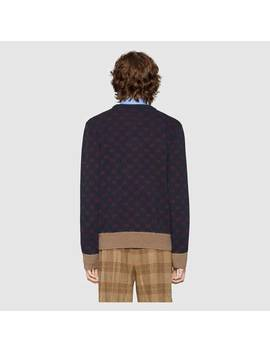 Gg Jacquard Sweater by Gucci