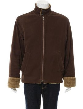 D&G Sherpa Lined Zip Up Jacket by D&G