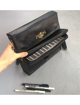 Piano Bag Leather Upright Piano Purse by Etsy