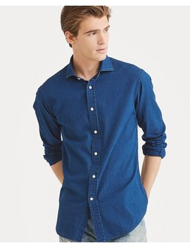 Classic Fit Indigo Twill Shirt by Ralph Lauren