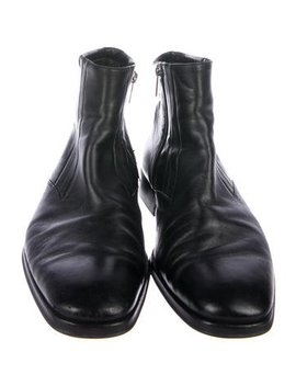 Bruno Magli Leather Ankle Boots by Bruno Magli