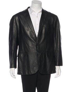 Ralph Lauren Black Label Leather Blazer by Ralph Lauren Black Label