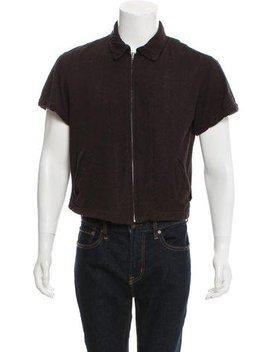 Comme Des Garçons Homme Plus Vintage Cropped Zip Up Sweater by Comme Des Garçons Homme Plus