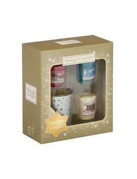 Yankee Candle   Pack Of 3 Votive Candle And Holder Gift Set by Yankee Candle