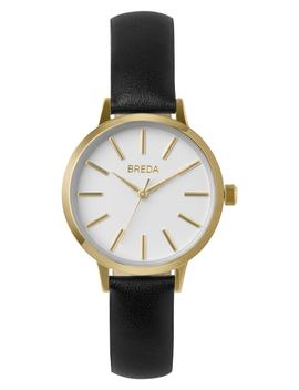 Joule Slim Leather Strap Watch, 30mm by Breda