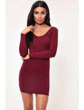 Berry Basic Bodycon Dress by I Saw It First