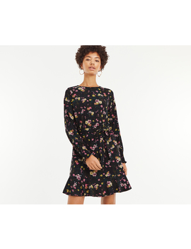 Floral Vine Blouse Dress by Oasis