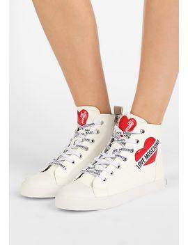 Heart   Sneaker High by Love Moschino