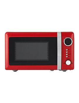 Wilko Colour Play Red Microwave 20 L Wilko Colour Play Red Microwave 20 L by Wilko