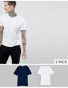 Farah Pinehurst 2 Pack Lounge T Shirts by Farah