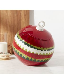 Ornament Garland Cookie Jar by Crate&Barrel