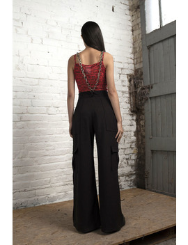 Betsy X The Ragged Priest  Pinstripe Trouser by The Ragged Priest