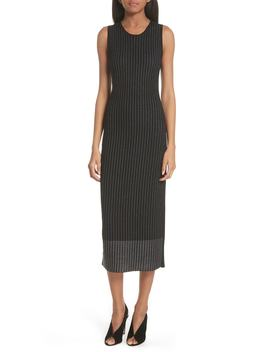 Pinstripe Wool Knit Dress by Grey Jason Wu