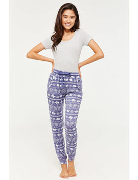 Elephant Lounge Joggers by Ardene