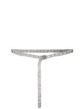 Crystal Embellished Belt by Oscar De La Renta