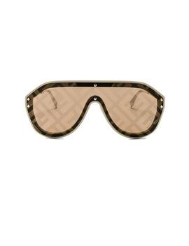 Logo Face Sunglasses by Fendi