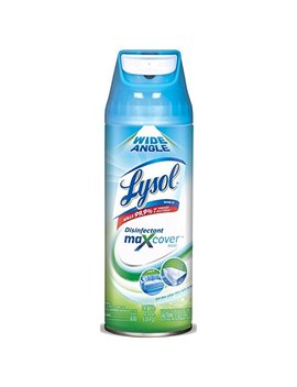 Lysol Max Cover Disinfectant Mist, Garden After Rain, 12.5oz, 2 X Wider Coverage by Lysol