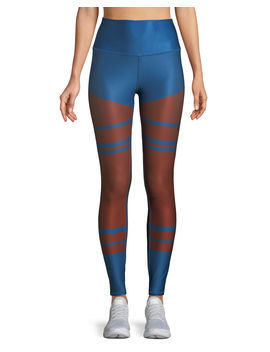 High Waist Tech Lift Airbrush Full Length Leggings by Neiman Marcus