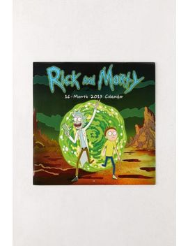 2019 Rick And Morty 16 Month Wall Calendar by Urban Outfitters