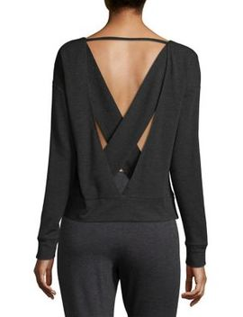 Uplift Cross Back Sweatshirt by Alo Yoga