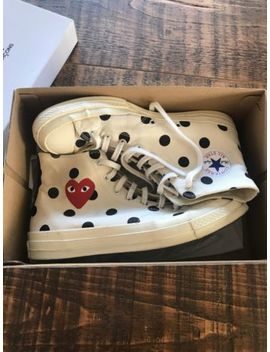 Comme Des Garcons Play Converse Size 11 by Ebay Seller