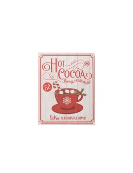 Hot Cocoa Tabletop Sign By Ashland® by Ashland