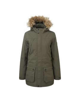 Tog 24   Dark Khaki Superior Milatex Parka Jacket by Tog 24
