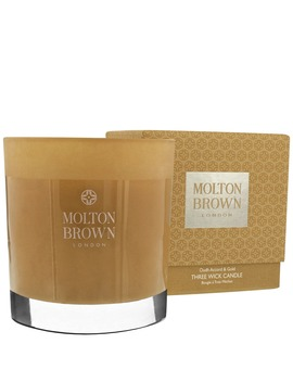 Three Wick Candle 480g by Molton Brown