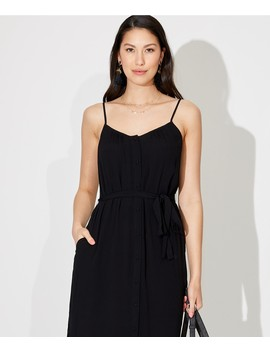 Curved Hem Slip Dress by Sportsgirl