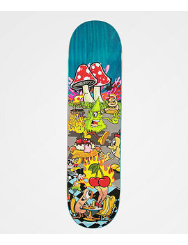 "Sausage Staycation 8.0"" Skateboard Deck by Sausage Skateboards"