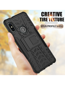 Znp Shockproof Holder Full Cover Case For Xiaomi Redmi Note 5 5 A Redmi 5 Plus 4 X Stand Phone Case For Redmi 6 Pro S2 5 A 4 A Cases by Znp