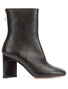 Block Heel Ankle Boots by Maison Margiela