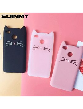 Soinmy 4 X Case 3 D Cute Beard Cat Ears Cases For Xiaomi Redmi 4x Case Silicone Soft Tpu Glitter Kitty Back Cover Redmi4x Coque   by Soinmy
