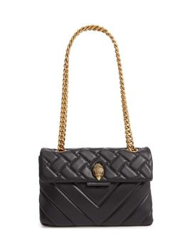 Kensington Quilted Leather Shoulder Bag by Kurt Geiger London