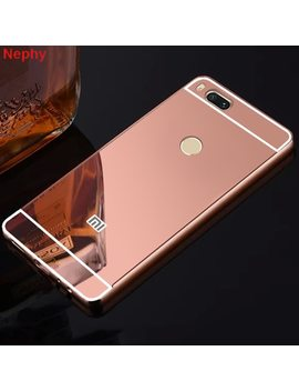 Soft Mirror Cell Phone Case For Xiaomi Redmi 4 X 4 A 5 5 A 6 Pro 6 A Plus S2 Note 4 4 X 3 Pro Global Version Mi 6 8 Ultra Thin Cover by Nephy