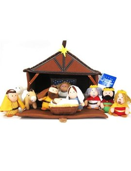 Talicor Plush Nativity 11 Piece Play Set by Tali Cor