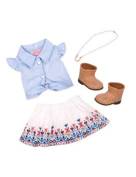 Our Generation Regular Ranch Outfit   My Lucky Horseshoe by Our Generation