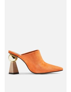 Gala Sculptured Heel Mules by Topshop