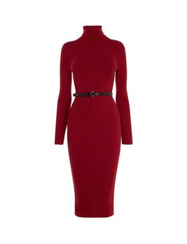Ribbed Fitted Knit Dress by Kd153 Fd056 Gd021 Jd105 Kd062 Kd044 Kd030 Dd118 Dd223 Hd005