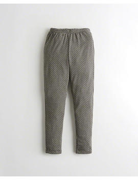 Stretch Crop Taper Pants by Hollister