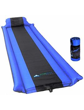 Iforrest Sleeping Pad With Armrest & Pillow   Self Inflating Sleeping Pad Is Ideal For Camping Hiking Backpacking   Camping Pad   Never Let Your Arm & Feet Feel The Ground   Inflatable Air Mat by Iforrest