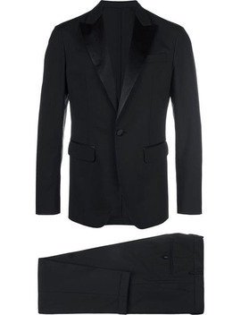 Tuxedo Single Breasted Suit by Dsquared2