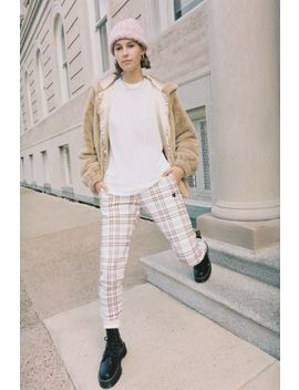 Champion & Uo Plaid High Rise Jogger Pant by Champion