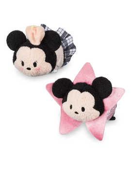 Mickey And Minnie Mouse ''tsum Tsum'' Plush Set   Mini   3 1/2''   Los Angeles by Disney