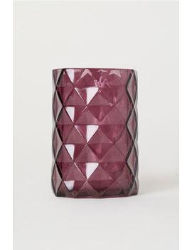 Tandborstmugg I Glas by H&M