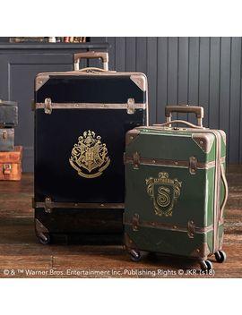 Harry Potter™ Hard Sided Slytherin™ Luggage Bundle, Set Of 2 by P Bteen