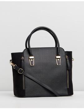 Medium Hardware Tote Bag by Dorothy Perkins